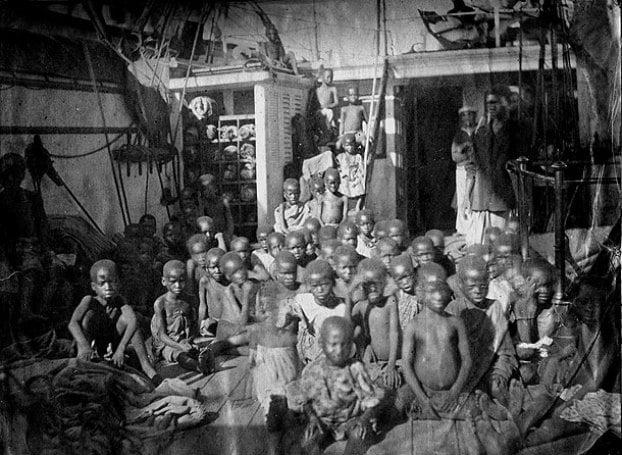 Imagini rare - sclavi