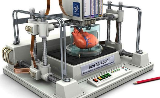 Imprimanta 3D organe