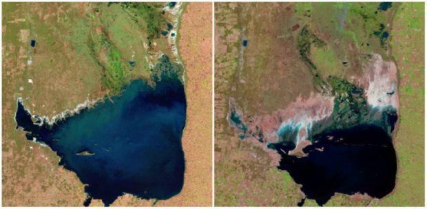 Incalzirea globala - Lacul Mar Chiquita