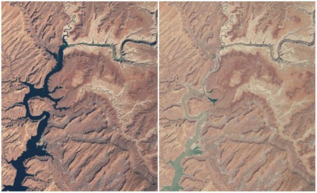 Incalzirea globala - Lacul Powell