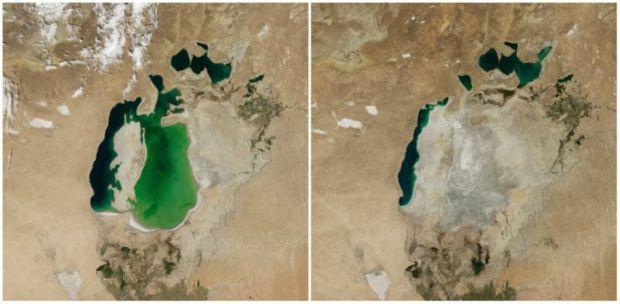 Incalzirea globala - Marea Aral