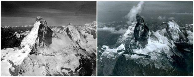 Incalzirea globala - Muntele Matterhorn