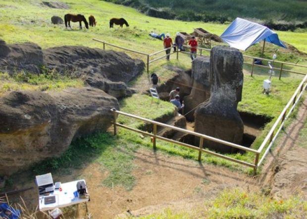 Insula Pastelui - Statuie 3
