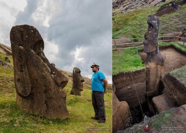 statuile din Insula Paștelui
