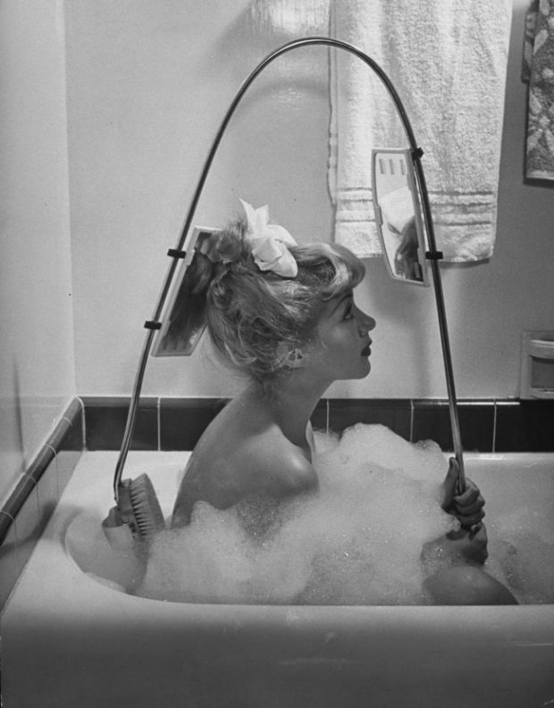 Inventii - Peria cu oglinda