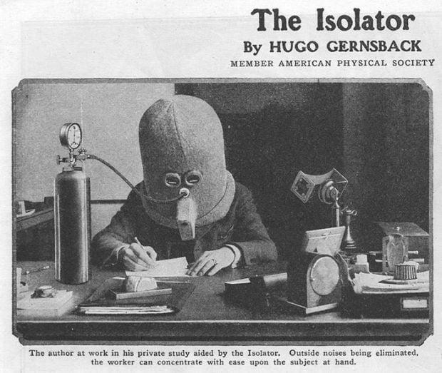 Inventii ciudate - izolator 1
