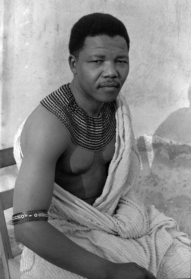 Lideri politici - Nelson Mandela