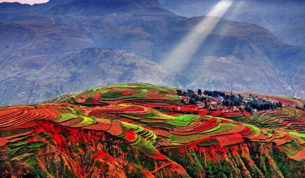 Locuri de vizitat - Dongchuan