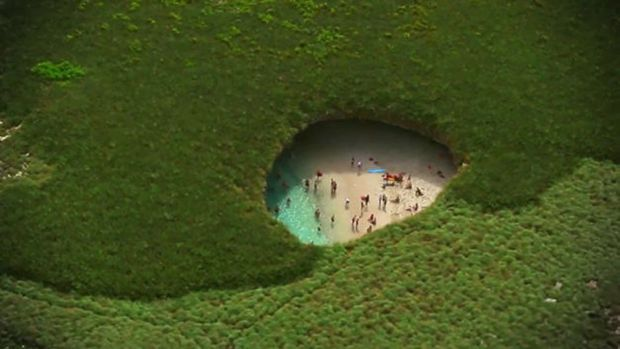 Locuri de vizitat - Plaja ascunsa