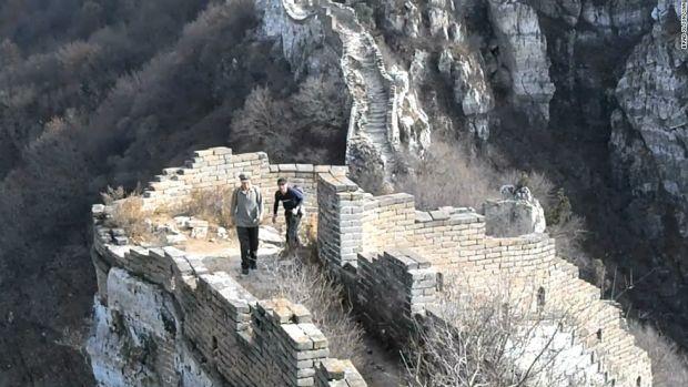 Marele Zid Chinezesc - Degradare