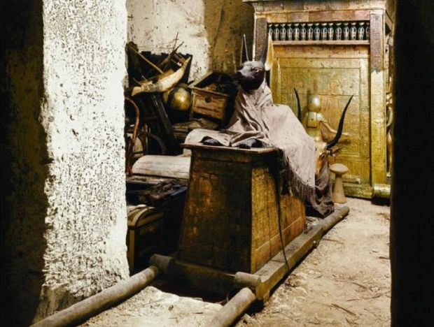 Tutankhamon Mormant
