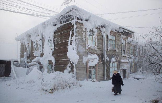 Oimiakon - Casa