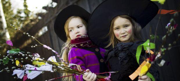 tradiții de Paște - Finlanda