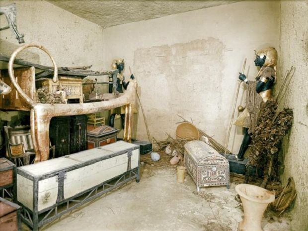 Tutankhamon Pat ceremonial leu
