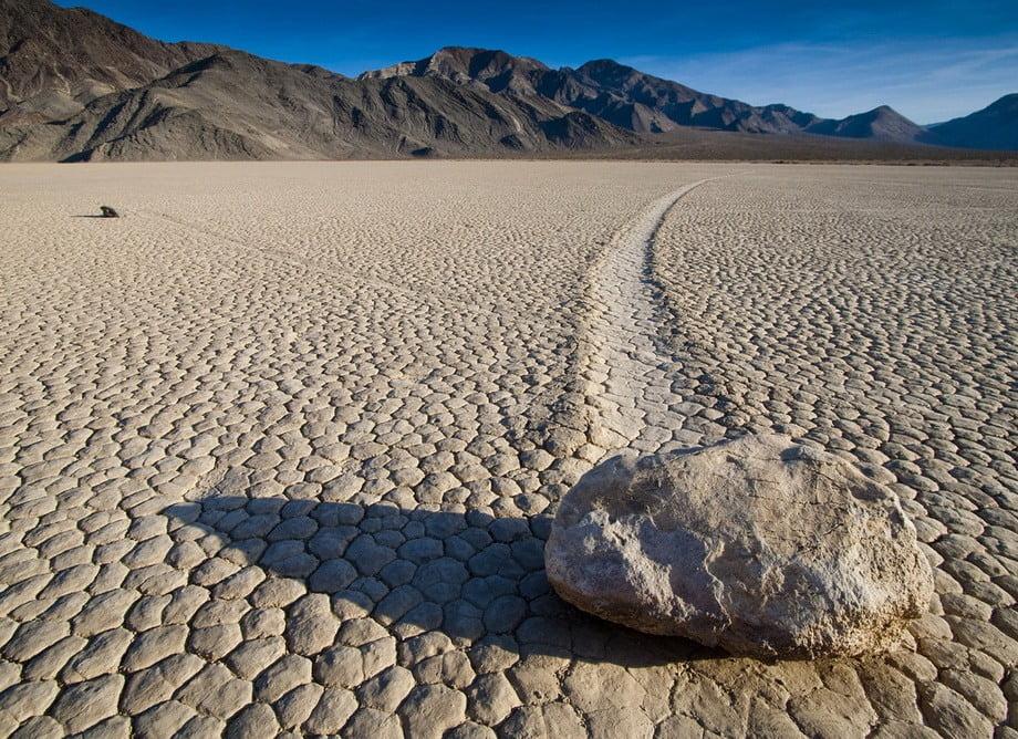 Valea Mortii - pietre miscatoare