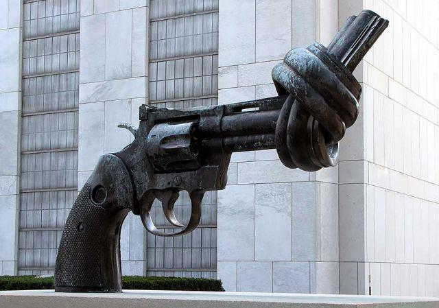 Pistolul innodat