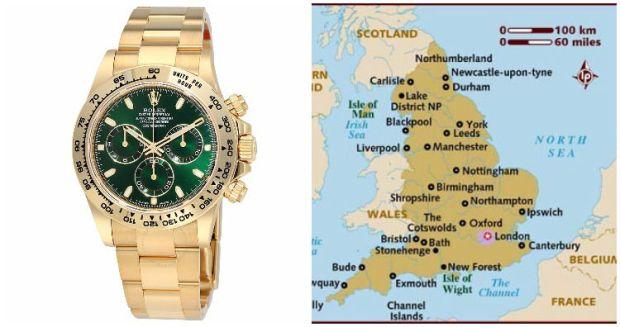 Rolex Anglia
