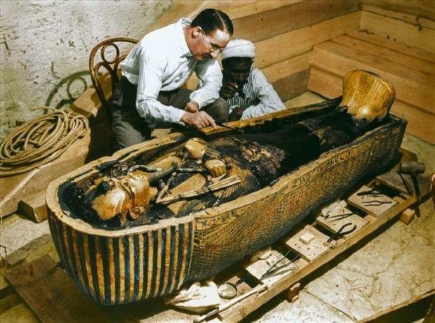 Tutankhamon Sarcofag