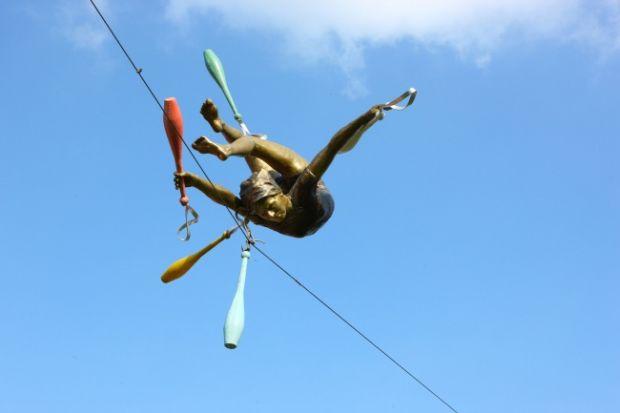 Sculpturi fascinante - In echilibru
