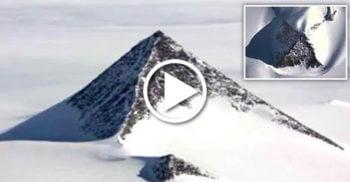 VIDEO Mistere îngropate în gheață: Piramida descoperită în Antarctica ar putea rescrie istoria?
