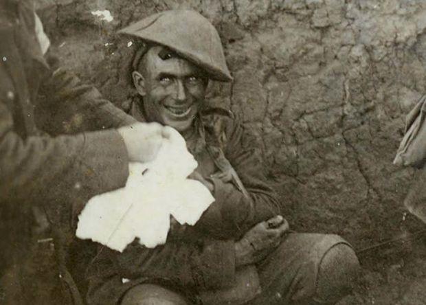 Soldat socul de obuz