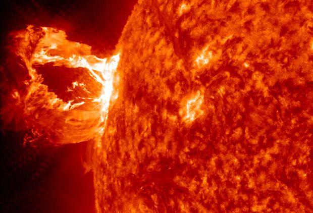 spațiul cosmic - Soarele