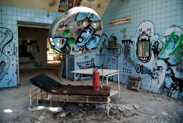 Locuri înfricoșătoare - spitalul-beelitz