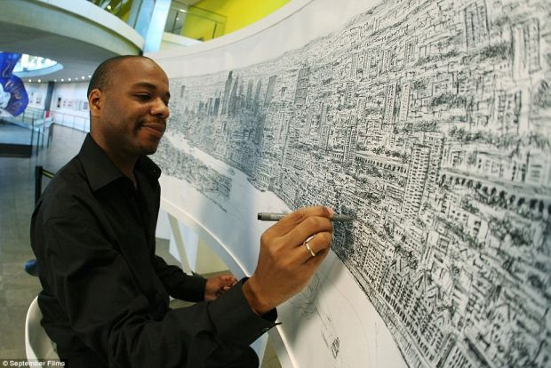 Superputeri - Stephen Wiltshire