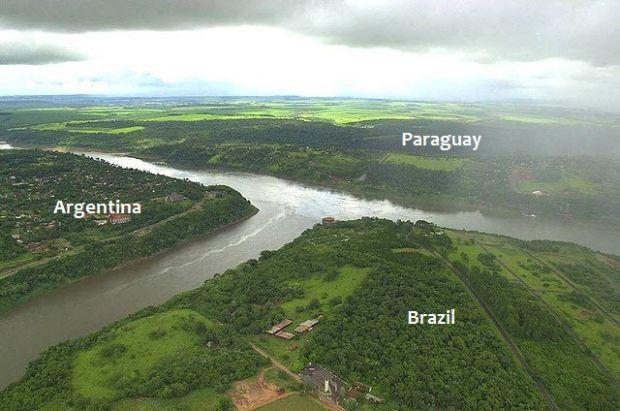 Tarile lumii - Argentina Brazilia Paraguay