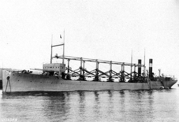 Triunghiul Bermudelor USS Cyclops