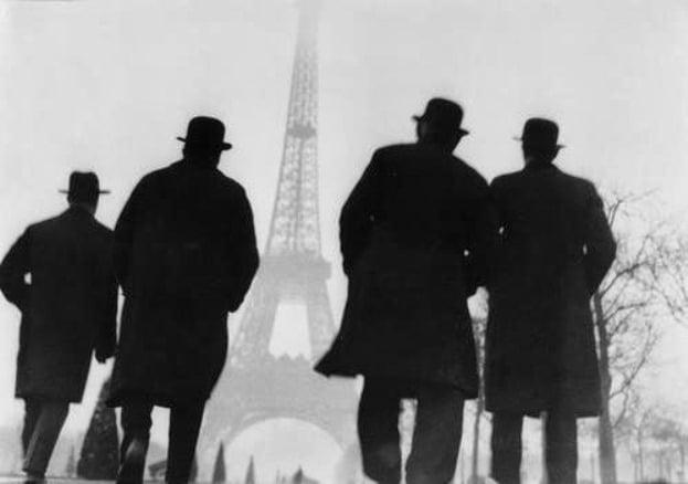 Turnul Eiffel - oameni