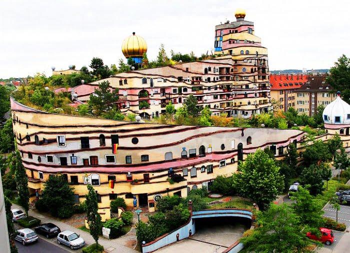 Cele mai ciudate clădiri din lume - Waldspirale
