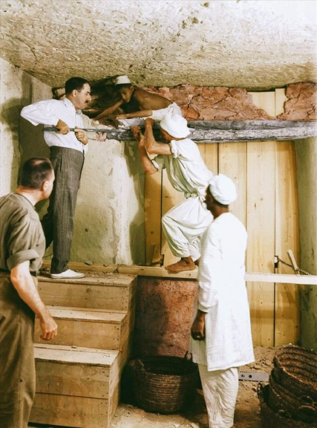 Tutankhamon Zidul despartitor
